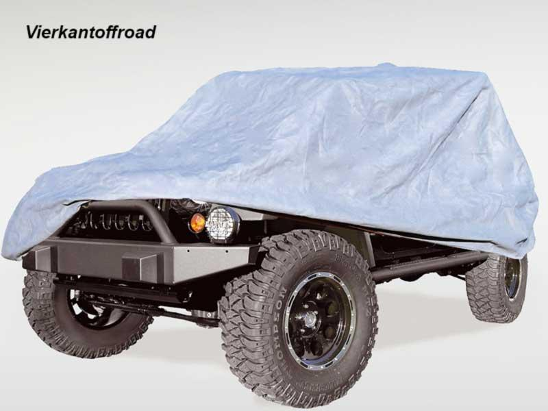 Full Car Cover, Abdeckung Jeep Wrangler Unlimited JK & JL