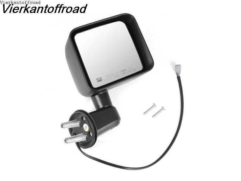 Outside mirror right, electric, heated, Jeep Wrangler JK 11-13