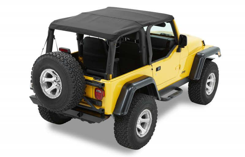 Trektop NX Softtop Jeep Wrangler TJ 96-06 Black Diamond