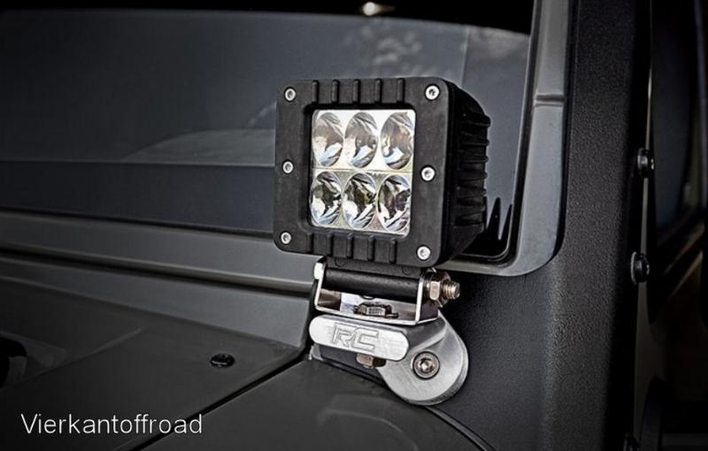 LED Worklight 2-inch Square Cree LED Lights a. 1440 lumens