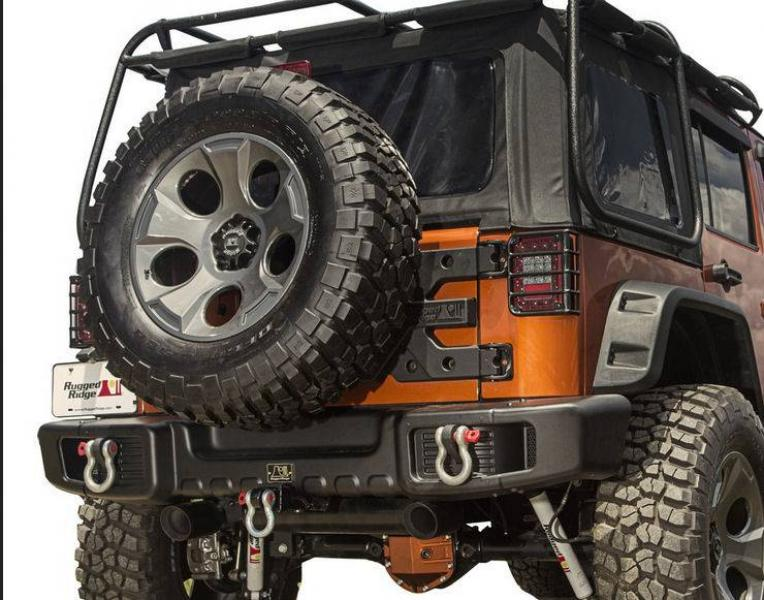 Rear bumper Spartacus for Jeep Wrangler JK 07-17