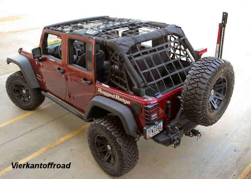 Cargo net for Wrangler JK 4-door