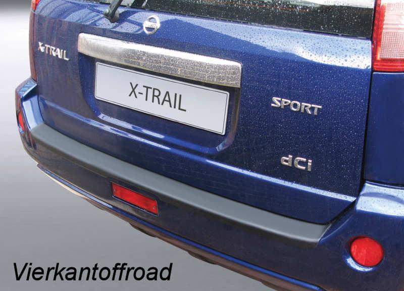 Custom Tailored Fit Boot Mat Nissan X-Trail 2001-2007