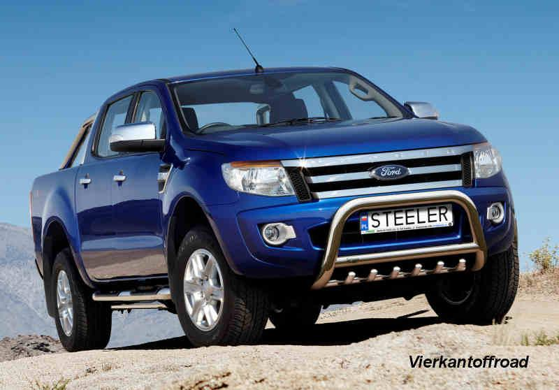 Front bumper FORD RANGER from 2012 - front bumper Bullbar V2A