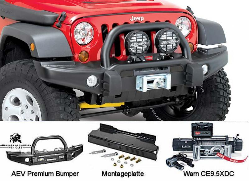 Windkit complete Jeep Wrangler JK from 2007
