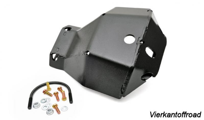 Differential Protection Differential Skid Plate Dana 30 front Jeep Wrangler JK from 07